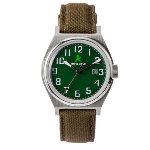 お取り寄せ ASC-4979-12 AMPELMANN アンペルマン クォーツ ラウンド 腕時計 グリーン|d-price