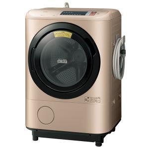 日時指定不可 BD-NX120AL-N 日立 ヒートリサイクル 風アイロン ビッグドラム 洗濯・脱水容量12kg 洗濯〜乾燥・乾燥容量6kg ドラム式洗濯乾燥|d-price