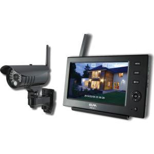CMS-7110 朝日電器 ELPA ワイヤレスカメラ&モニター
