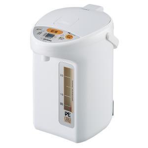 CV-TY22-WA ZOJIRUSHI 象印 優湯生(ゆうとうせい) 2.2L マイコン沸とうVE電気まほうびん ホワイト