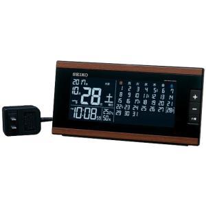 DL212B SEIKO セイコー マンスリーカレンダー搭載 交流式電源 デジタル電波置時計 電波置時計 d-price