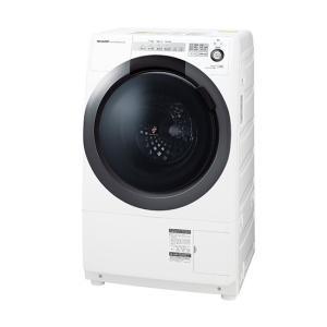 日時指定不可 ES-S7C-WL SHARP シャープ 左開き ドラム式洗濯乾燥機 ホワイト系 d-price