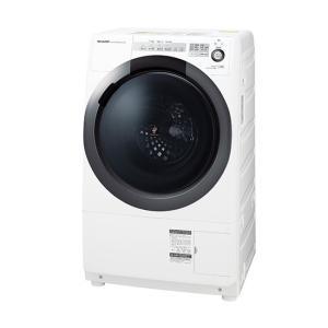 日時指定不可 ES-S7C-WR SHARP シャープ 右開き ドラム式洗濯乾燥機 ホワイト系 d-price