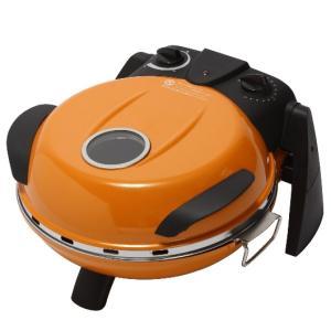 FPM-160 フカイ工業 さくさく石窯 タイマー付 ピザメーカー オレンジ|d-price