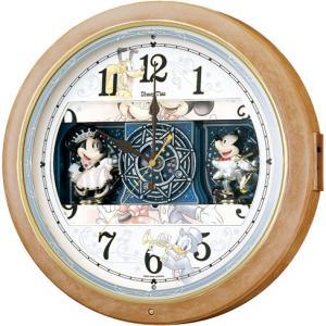 FW561A ディズニータイム SEIKO セイコー キャラクター電波掛時計 ミッキーマウス&ミニーマウス|d-price