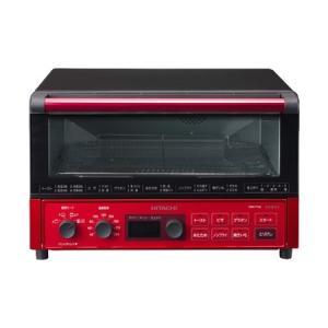 HMO-F100-R HITACHI 日立 VEGEE コンベクションオーブントースター メタリックレッド|d-price