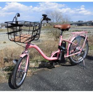 メーカー直送 代引不可 日時指定不可 KH-DCY07-PPI カイホウジャパン SUISUI フロント20インチ リア24インチ 低床電動アシスト自転車 ビッグバスケット|d-price