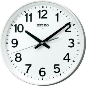 KX317W SEIKO セイコー 掛時計 電波時計 オフィスタイプ SWEEP スイープ