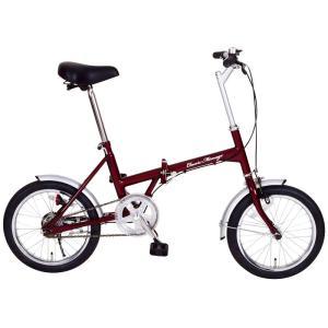 メーカー直送 代引不可 日時指定不可 北海道・沖縄・離島不可 MG-CM16 ミムゴ Classic Mimugo FDB16 16インチ 折りたたみ自転車 クラシック|d-price