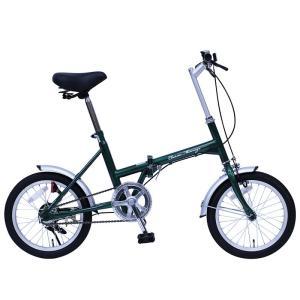 メーカー直送 代引不可 日時指定不可 MG-CM16G ミムゴ Classic Mimugo (クラシック ミムゴ) FDB16G 16インチ 折りたたみ自転車 モスグリーン|d-price