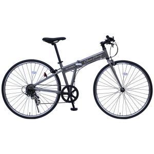メーカー直送 代引不可 日時指定不可 MG-CM7007G ミムゴ Classic Mimugo (クラシック ミムゴ) FDB700C 7SG 7段変速 クロスバイク 折りたたみ自転車 ガンメタ|d-price