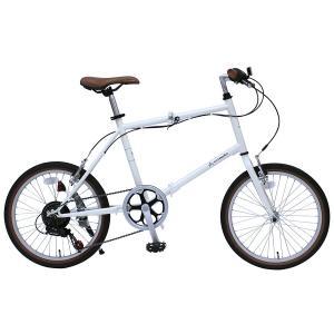 メーカー直送 代引不可 日時指定不可 MG-CTN206G ミムゴ CITROEN (シトロエン) FD-MINIVELO206SG 20インチ 折りたたみ自転車 バニラホワイト|d-price