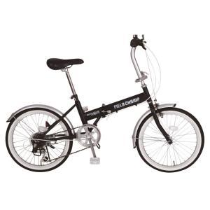 メーカー直送 代引不可 日時指定不可 MG-FCP206 ミムゴ FIELD CHAMP フィールド チャンプ FDB20 6S 20インチ 折りたたみ自転車 ブラック|d-price