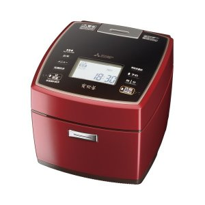 NJ-VX109-R MITSUBISHI 三菱電機 備長炭 炭炊釜 5.5合炊き ジャー炊飯器 シャインレッド|d-price