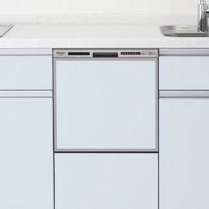 時間指定不可 NP-45RS7S Panasonic パナソニック R7シリーズ ミドルタイプ(幅45cm) ドアパネル型 ビルトイン食器洗い乾燥機 シルバー|d-price