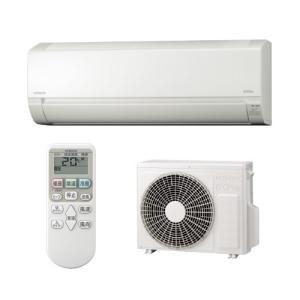 時間指定不可 RAS-AJ22G-W HITACHI 日立 白くまくん AJシリーズ 2.2kW 住宅設備用 ルームエアコン スターホワイト d-price