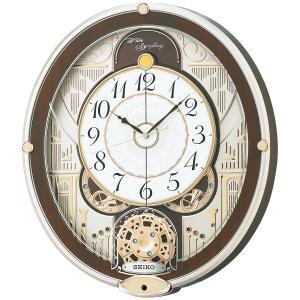 RE577B SEIKO セイコー スワロフスキー・クリスタル使用 からくり・アミューズ 電波からくり時計|d-price