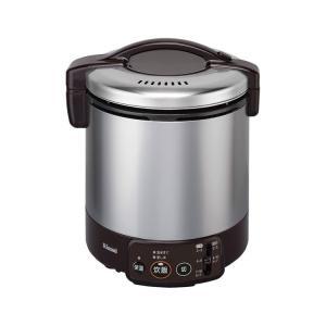 RR-100VM-DB-LP Rinnai リンナイ こがまる VMシリーズ プロパンガス用 1.8L(2〜10合) ガス炊飯器 ダークブラウン|d-price