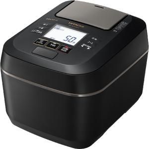 HITACHI 日立 圧力&スチーム ふっくら御膳 RZ-W100DM-K IHジャー炊飯器 5.5...