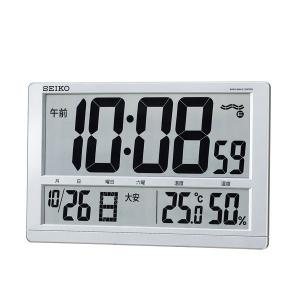 SQ433S SEIKO セイコー 掛置兼用 温湿度表示付き電波時計 d-price