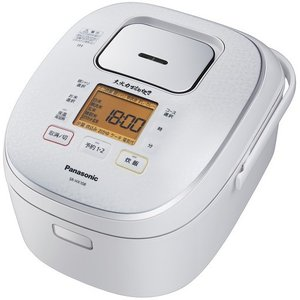 SR-HX108-W Panasonic パナソニック 大火力おどり炊き 5.5合炊き IHジャー炊飯器 スノーホワイト|d-price|02