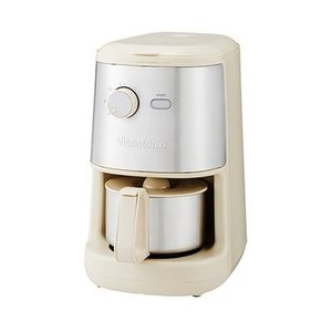 ■ミル内蔵の全自動コーヒーメーカー カッター式のミル内蔵で、挽きたての香りがたのしめる全自動モデル。...