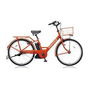 ★BRIDGE STONE / ブリヂストン ステップクルーズe SC685 [F.Xソリッドオレンジ] + 専用充電器 【電動自転車】|d-rise2