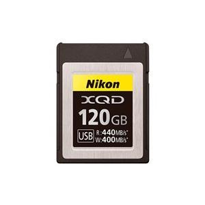 ★Nikon / ニコン XQDメモリーカード MC-XQ120G [120GB] 【XQDメモリー...