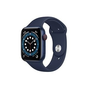 ★Apple Watch Series 6 GPS+Cellularモデル 44mm M09A3J/A [ディープネイビースポーツバンド]|d-rise2