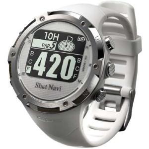 ●TECHTUIT / テクタイト 腕時計型 GPS ゴルフナビ Shot Navi W1-GL [ホワイト]|d-rise2