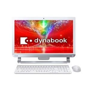 ★TOSHIBA / 東芝 dynabook D41 D41/NW PD41NWP-SHB [リュクスホワイト] 【デスクトップパソコン】|d-rise