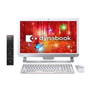 ★TOSHIBA / 東芝 dynabook D71 D71/PW PD71PWP-BHA [リュクスホワイト] 【デスクトップパソコン】|d-rise