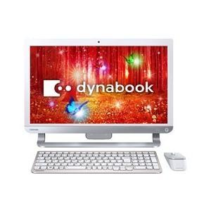 ★TOSHIBA / 東芝 dynabook D61 D61/PW PD61PWP-BHA [リュクスホワイト] 【デスクトップパソコン】|d-rise