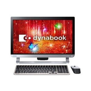 ★TOSHIBA / 東芝 dynabook D61 D61/PB PD61PBP-BHA [プレシャスブラック] 【デスクトップパソコン】|d-rise