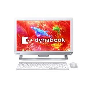 ★TOSHIBA / 東芝 dynabook D41 D41/RW PD41RWP-SHA [リュクスホワイト] 【デスクトップパソコン】|d-rise