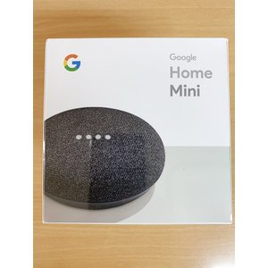 ★◇Google Google Home Mini [チャコール] 【Bluetoothスピーカー】