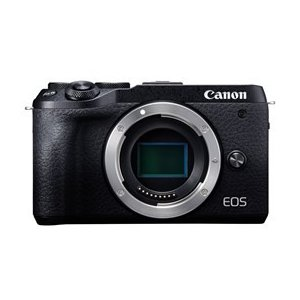 ★キヤノン / CANON EOS M6 Mark II ボディ [ブラック] 【デジタル一眼カメラ...