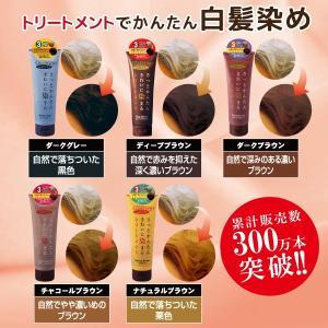 白髪染め ヘアカラートリートメント・カバーグレイ 全5色・シャンプー ( 3本お買い上げで更に1本プレゼント! )|d-shopstyle|02