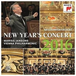 新品 送料無料 ニューイヤー・コンサート2016 マリス・ヤンソンス ウィーン・フィルハーモニー管弦楽団 CD PR