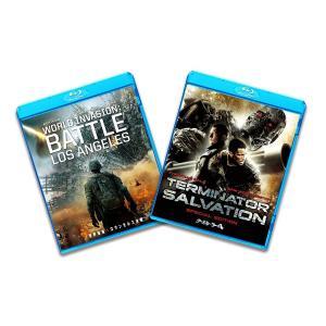 新品 送料無料 ブルーレイ2枚パック 世界侵略 ロサンゼルス決戦/ターミネーター4 Blu-ray ...