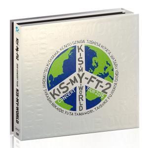 廃盤 kis-my-ft2 2015 CONCERT TOUR KIS-MY-WORLD 4DVD 初回生産限定盤 キスマイ PR d-suizan-p