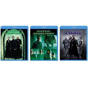 Blu-ray 3点セット マトリックス リローデッド / マトリックス レボリューションズ / The Matrix キアヌ・リーブス ブルーレイ PR|d-suizan-p