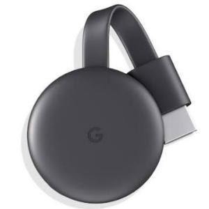 Google Chromecast クロームキャスト GA3A00133A16Z01 ブラック グー...