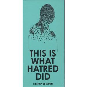 【洋書SALE】CRISTINA DE MIDDEL『THIS IS WHAT HATRED DID』|d-tsutayabooks