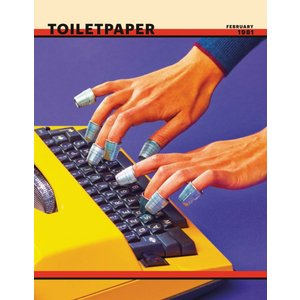 Toilet Paper Issue 9 Maurizio Cattelan & Pierpaolo Ferrari/アート 雑誌 トイレットペーパー 9号|d-tsutayabooks