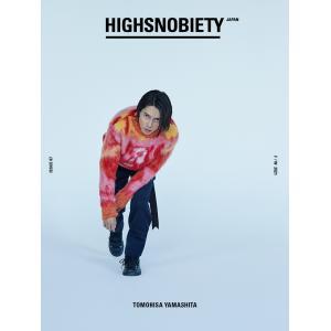 HIGHSNOBIETY JAPAN ISSUE07  (ハイスノバイエティジャパン) 山下智久 TOMOHISA YAMASHITA d-tsutayabooks