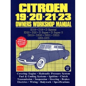 Citroen 19, 20, 21, 23 Owner's Workshop Manual 1955-75|d-tsutayabooks