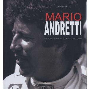 MARIO ANDRETTI A life in pictures マリオ・アンドレッティ写真集