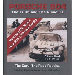 Porsche904 - The Truth and The Rumours ポルシェ904シャシ履歴集|d-tsutayabooks