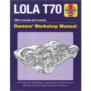 整備書 LOLA T70 Owner's Workshop Manual